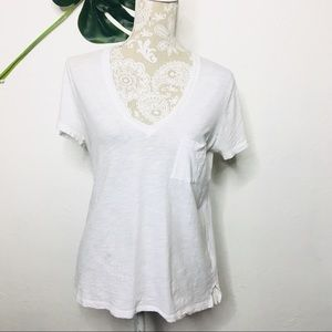 NWT Madewell Perfect Tee Medium White
